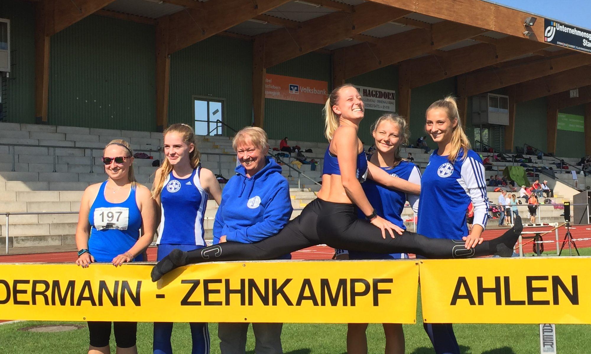 USC-Athleten beim Siebenkamp in Ahlen