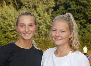 Carina Keilmann und Kim Brünger